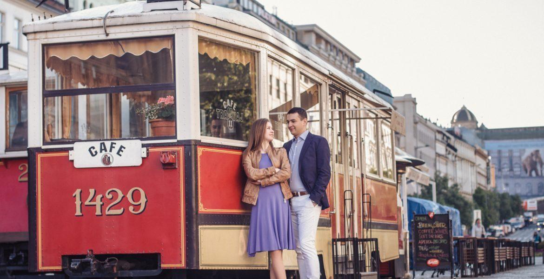 Love Story фотопрогулка по Праге в мае