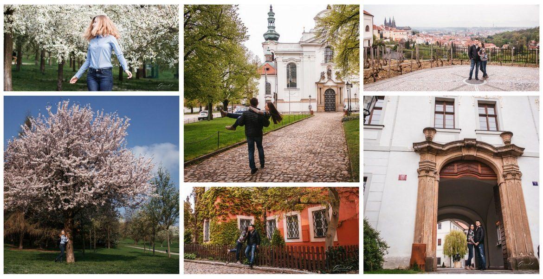 Фотопрогулка: #17 Петршинские сады + Страговский монастырь