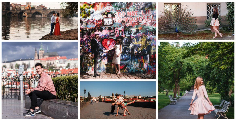 Фотопрогулка: #1 Карлов мост + Вояновы сады + Остров Кампа