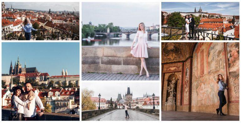 Фотопрогулка: #2 Карлов мост + Вртбовский сад