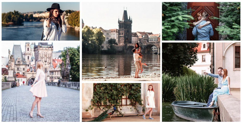 Фотопрогулка: #5 Карлов мост + Вальдштейнский сад