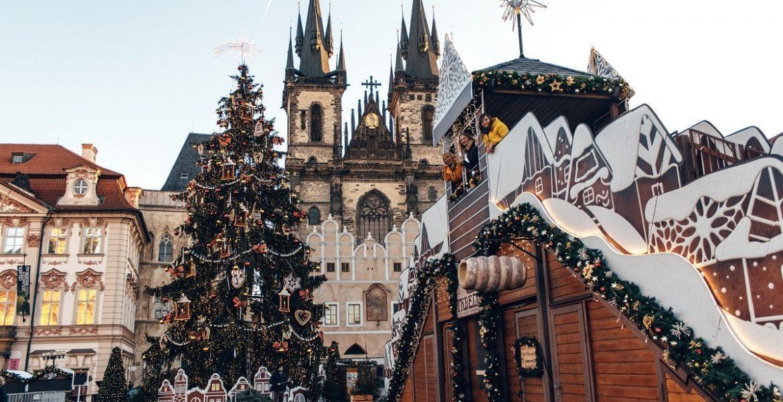 Рождественская фотопрогулка с подружками в Праге